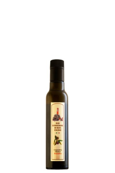 Olio Extra Vergine di Oliva Oleificio Pozzuolese bottiglia 0,25