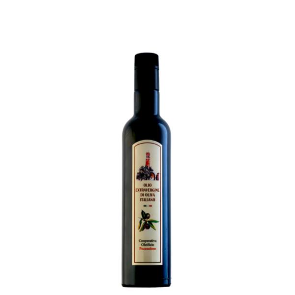 Olio Extra Vergine di Oliva Oleificio Pozzuolese bottiglia 0,50
