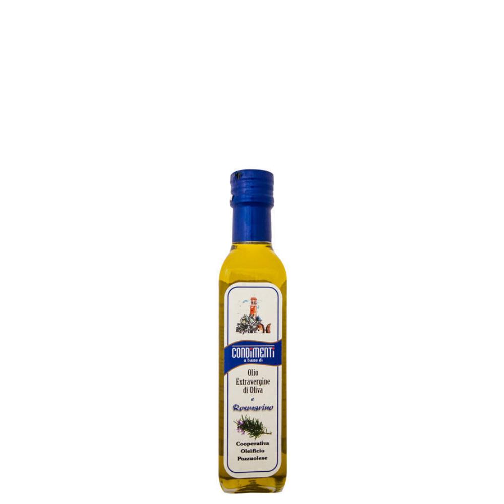 Olio Extra Vergine di Oliva aromatizzato rosmarino Oleificio Pozzuolese