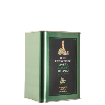 Olio Biologico Lattina 3 litri - Oleificio Pozzuolese
